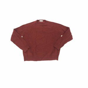 J. Crew Lambswool Sweater Mens XL Red Vintage 90's